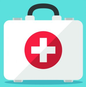 clipart of a first aid kit