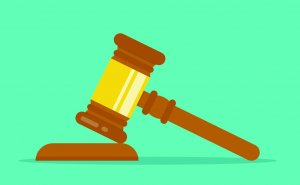 clipart of gavel and block