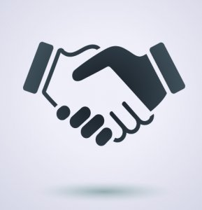 clipart of shaking hands